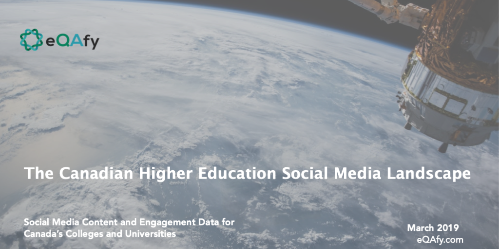 Report: Canadian Higher Education Social Media Landscape